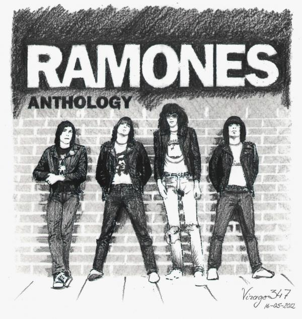 Ramones by virago347
